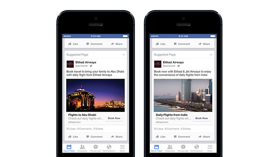 Facebook now lets marketers target ads at its 92 million expats