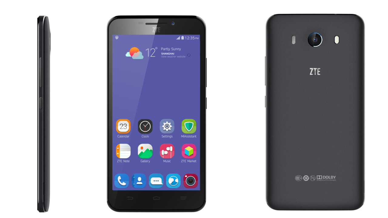 ZTE launches Grand S3 with 5.5″ 1080p display and Eyeprint ID biometric security