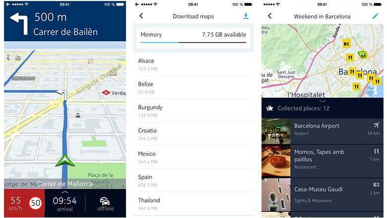 Nokia's HERE mapping app is back on iOS
