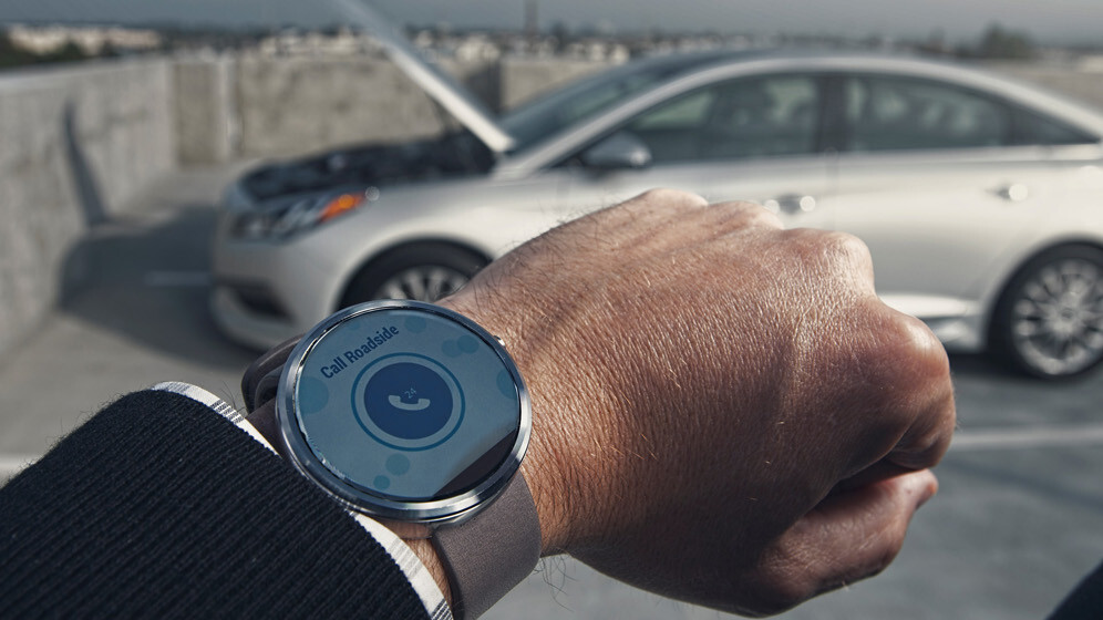 You can now start your Hyundai car with your Android Wear smartwatch