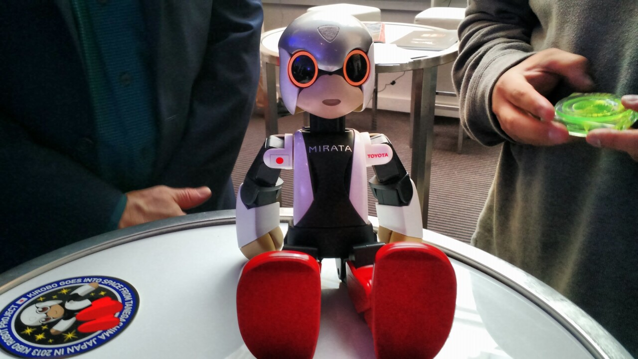 How the world's first robot astronaut is helping pave the way for the future of human-android interaction