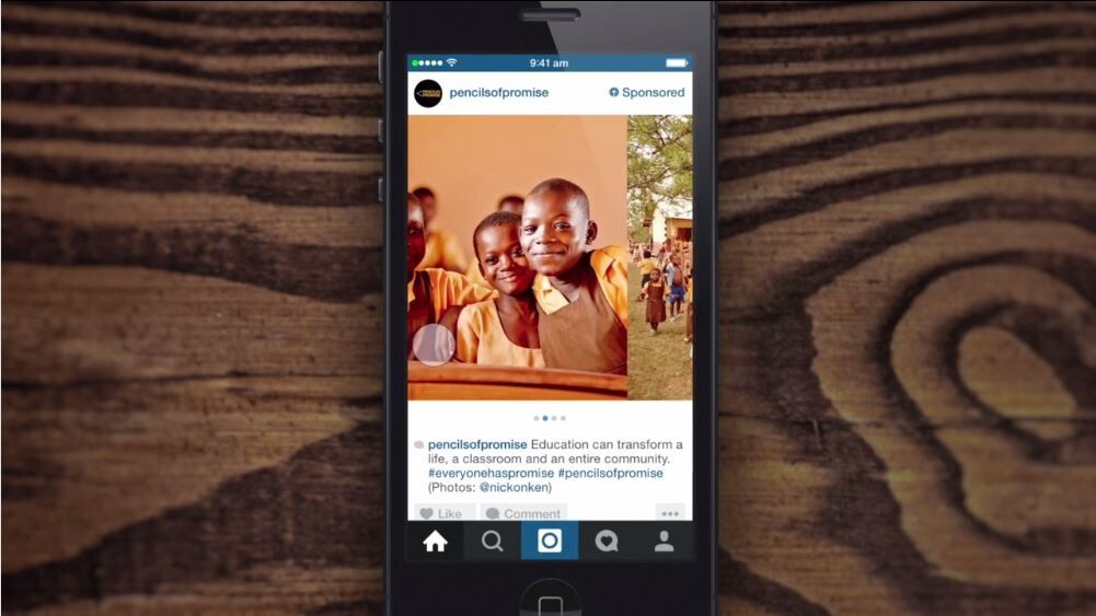 Instagram ads are now clickable and can include image carousels
