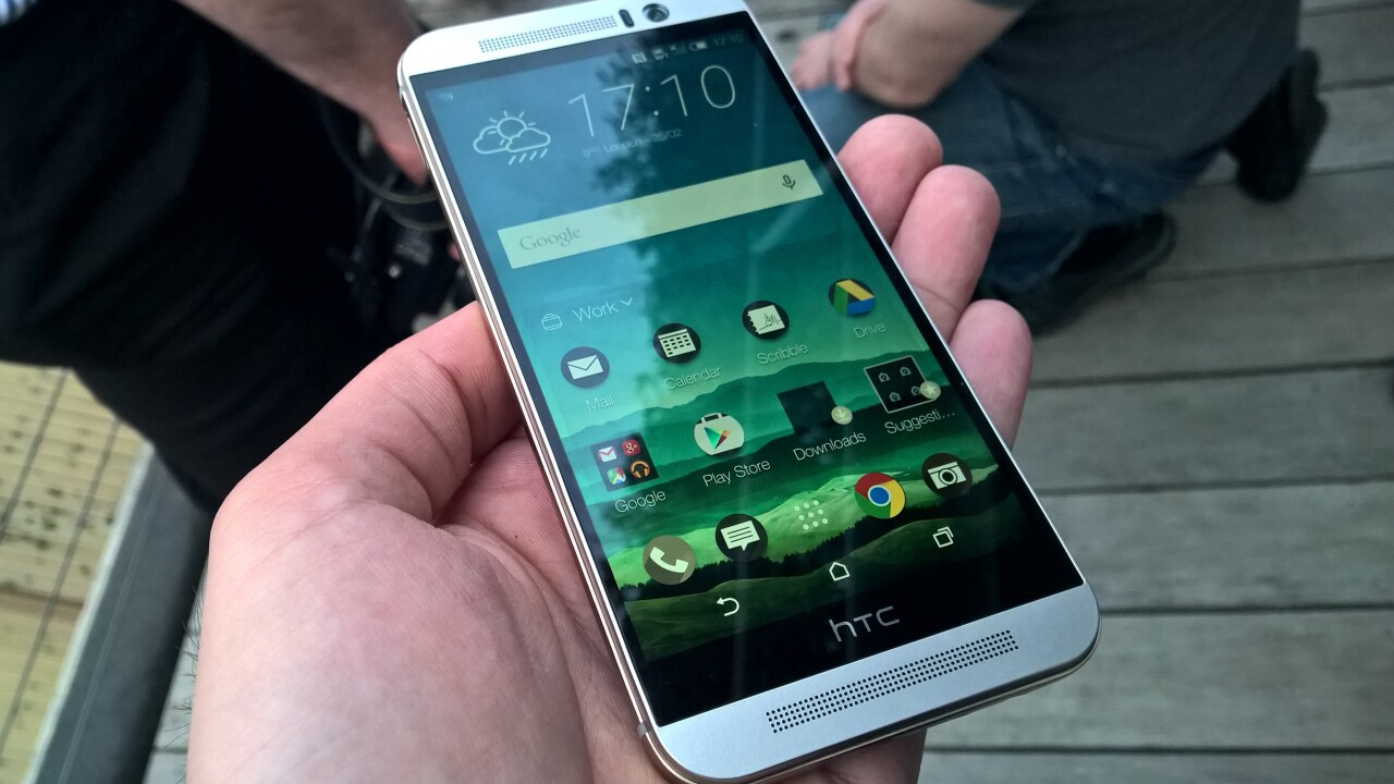 HTC One M9 first impressions: A solid flagship device with a beautiful build