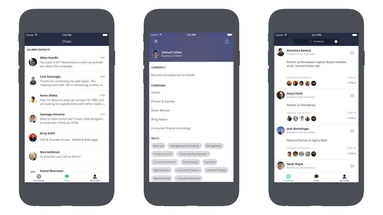 Caliber for iOS and Android is the business messaging app you wish LinkedIn would be