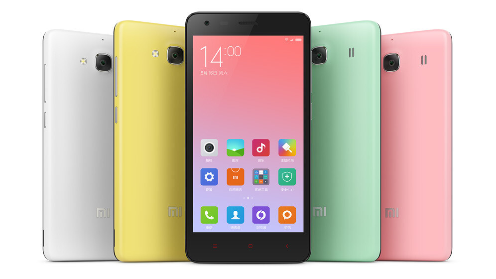 Xiaomi launches special edition Mi Note and Redmi 2 Android phones and a new Bluetooth weighing scale