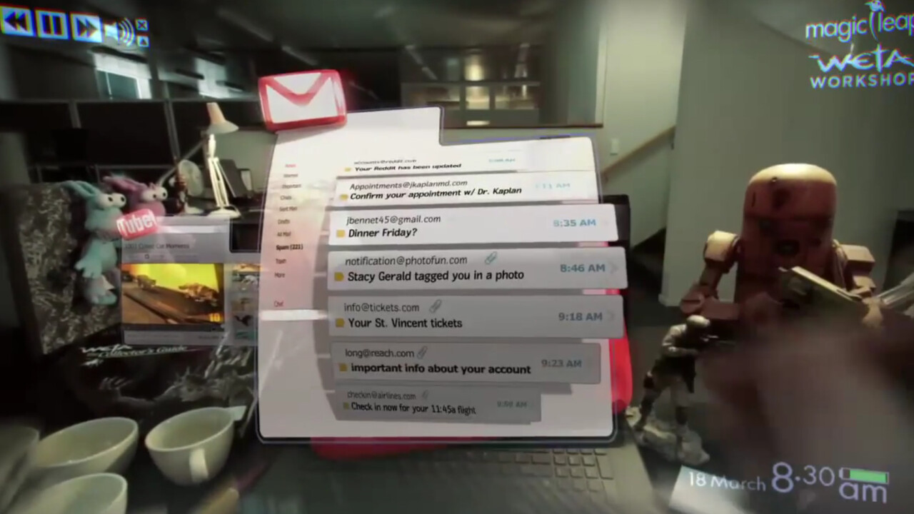 Magic Leap shows off its augmented reality gaming experience