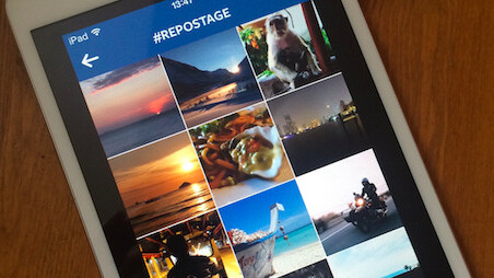 Repostage lets you print your Instagram photos using just a hashtag