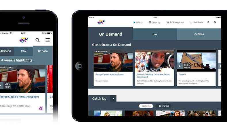 O2 customers will get new Channel 4 shows early when 4oD relaunches as All 4