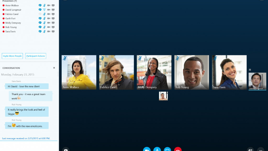 Microsoft releases Skype for Business technical preview