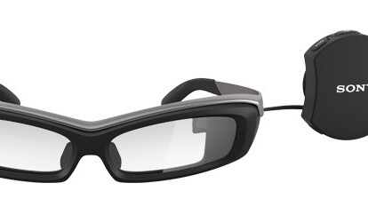 Sony's $840 SmartEyeglass AR specs now up for sale in 10 countries