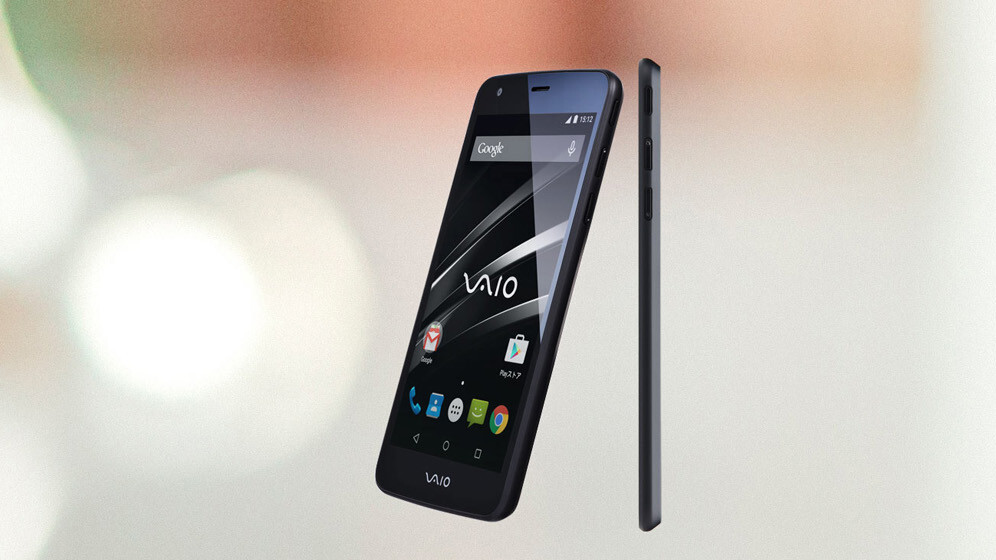 VAIO's first smartphone is a mid-range Android Lollipop affair