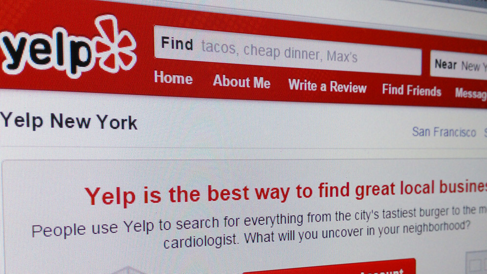 Yelp now lets you book outdoor activities, bottle service and a round of golf