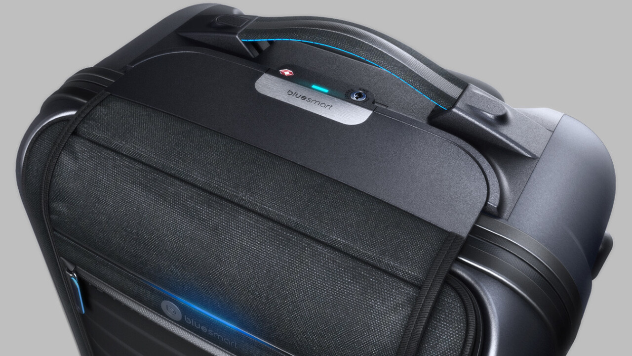 Telefónica will provide connectivity to Bluesmart's smart suitcase