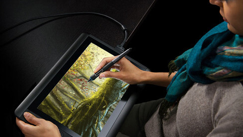 Wacom's petite Cintiq gets new touch ability