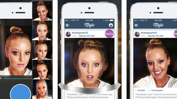 Moju for iOS adds chat and face recognition to its motion-based photo app