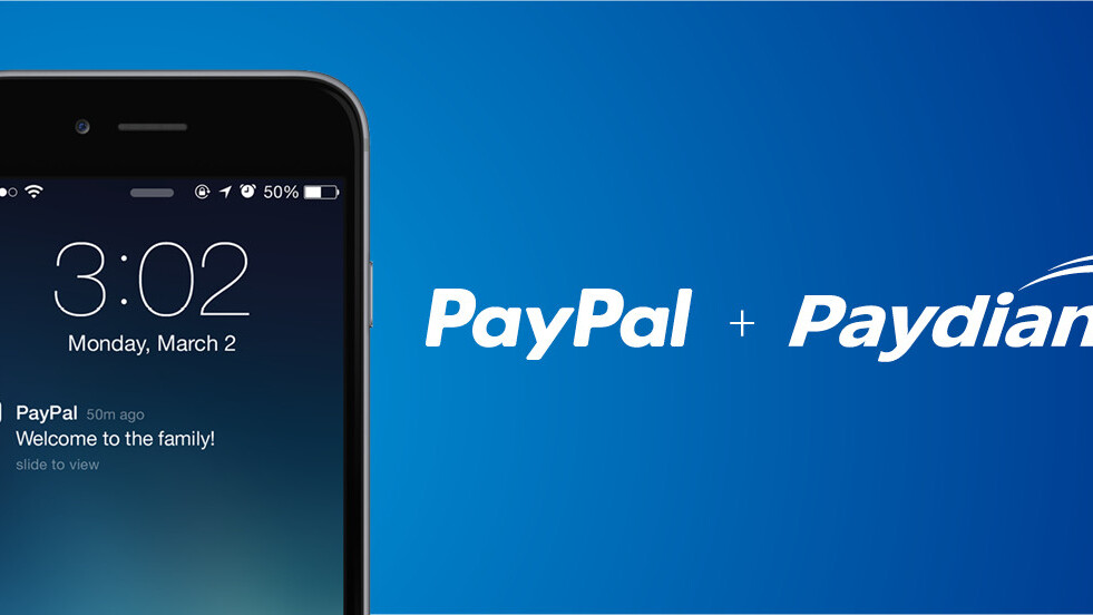 PayPal acquires mobile payment startup Paydiant, adds NFC to Here card readers