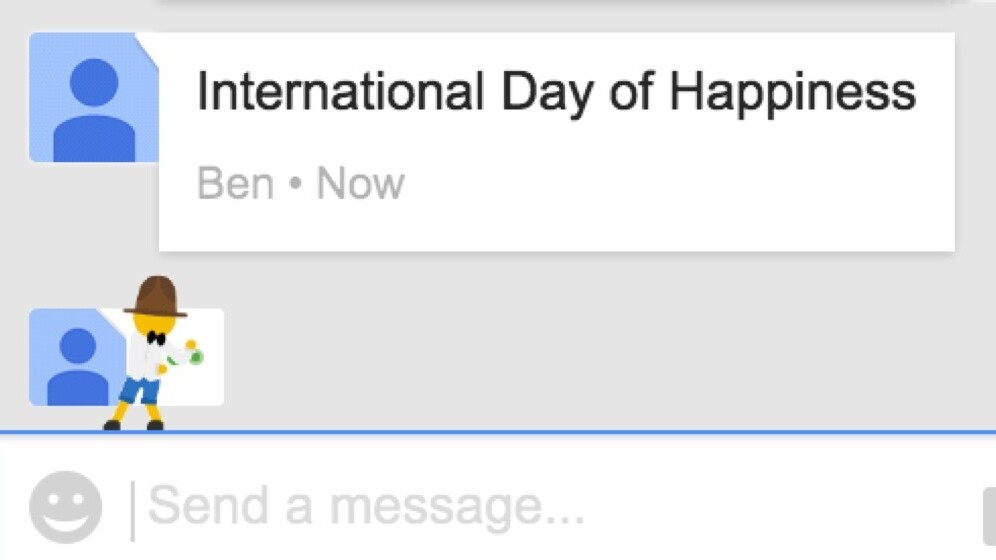 Pharrell pops up in Google Maps and Hangouts to mark International Day of Happiness