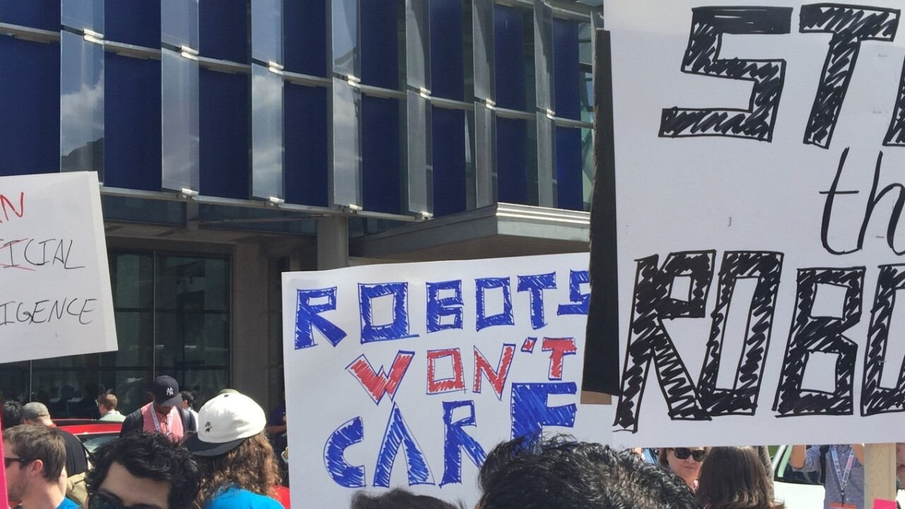 Lies, damned lies and robots at SXSW
