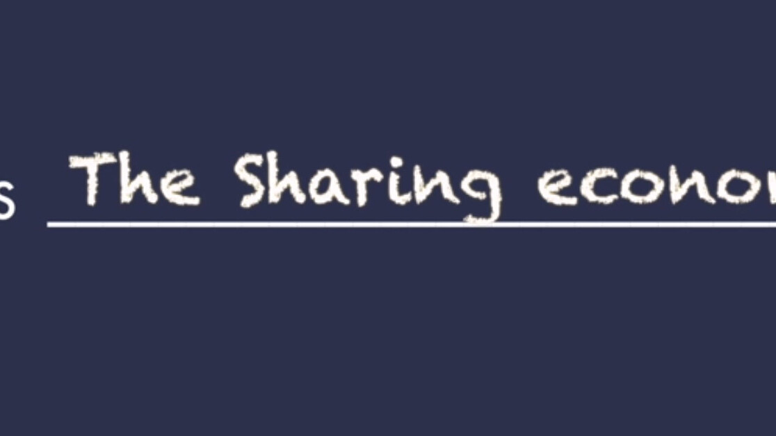 What is the sharing economy really about?