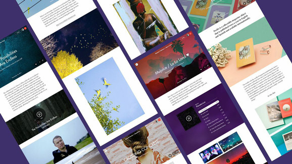 Stampsy: A creative medium between a blog and a website