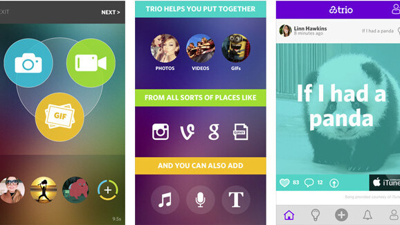Trio sparks creativity with easy multimedia collages
