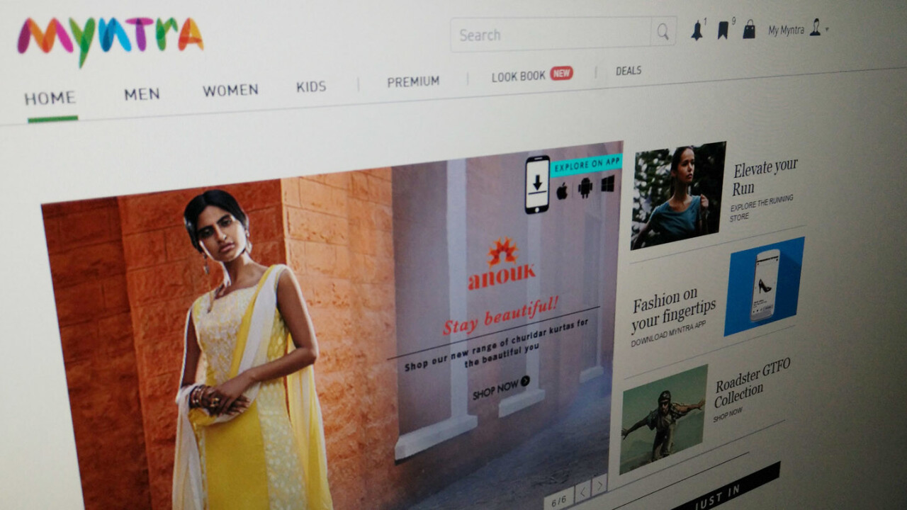 Indian fashion retailer Myntra is closing its site on May 1 to focus on app-based sales