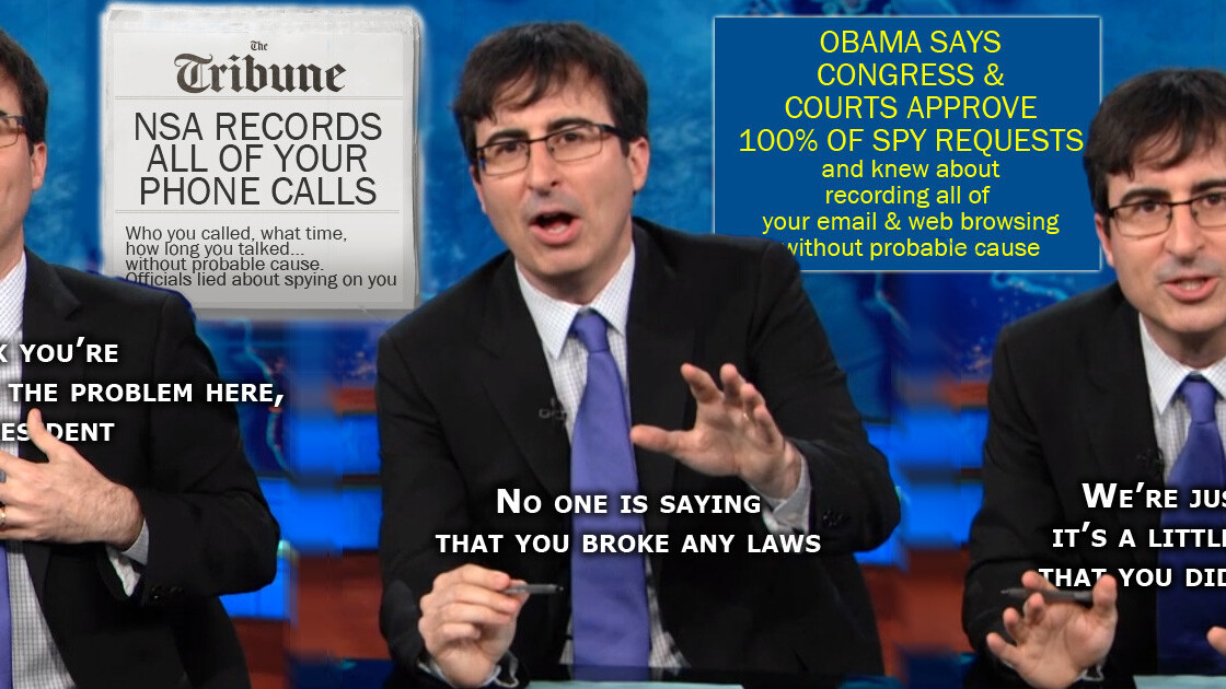 What John Oliver can teach us about communication