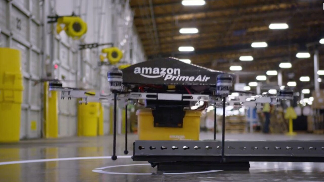 Amazon's newest delivery drone prototype has approval for testing in the US
