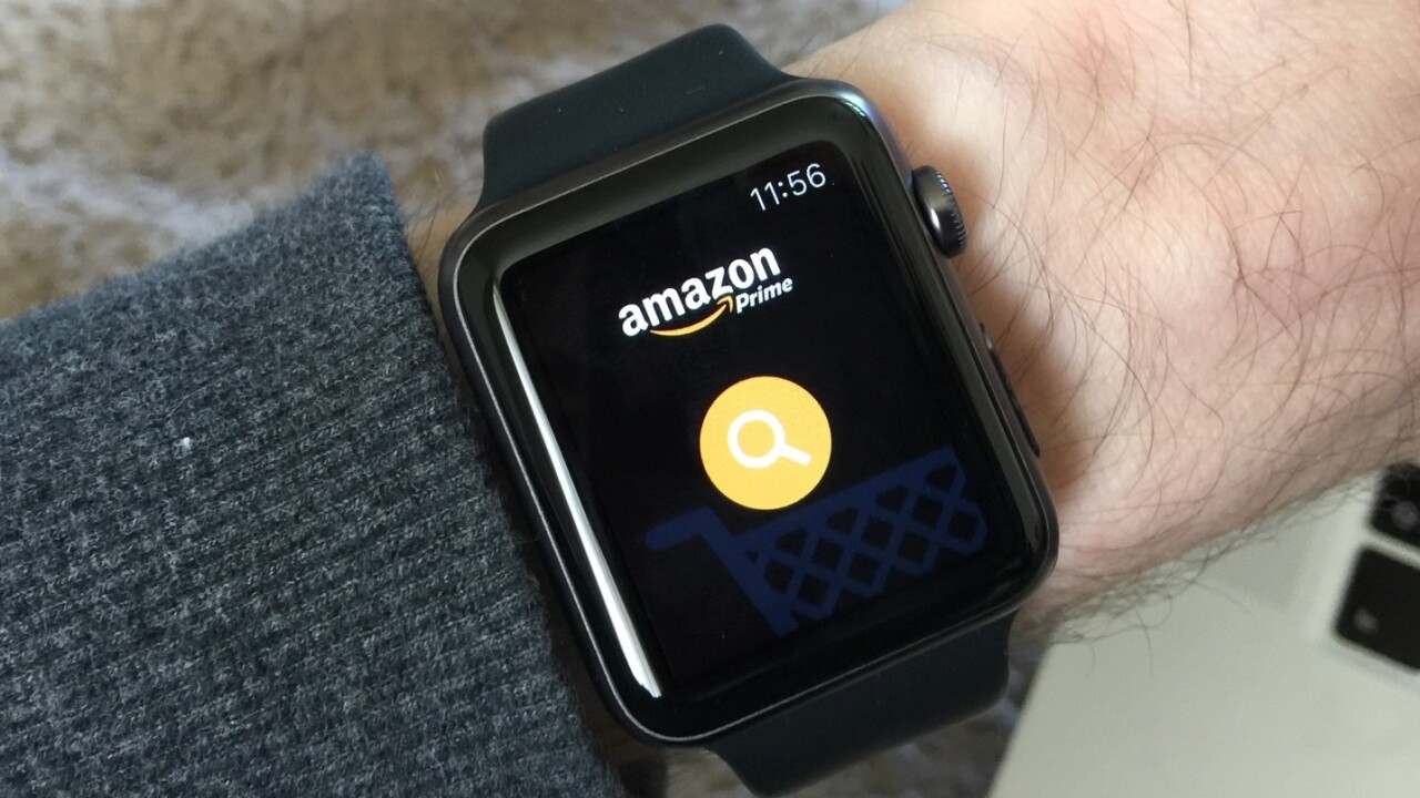 The Apple Watch is the simplest way to buy from Amazon yet