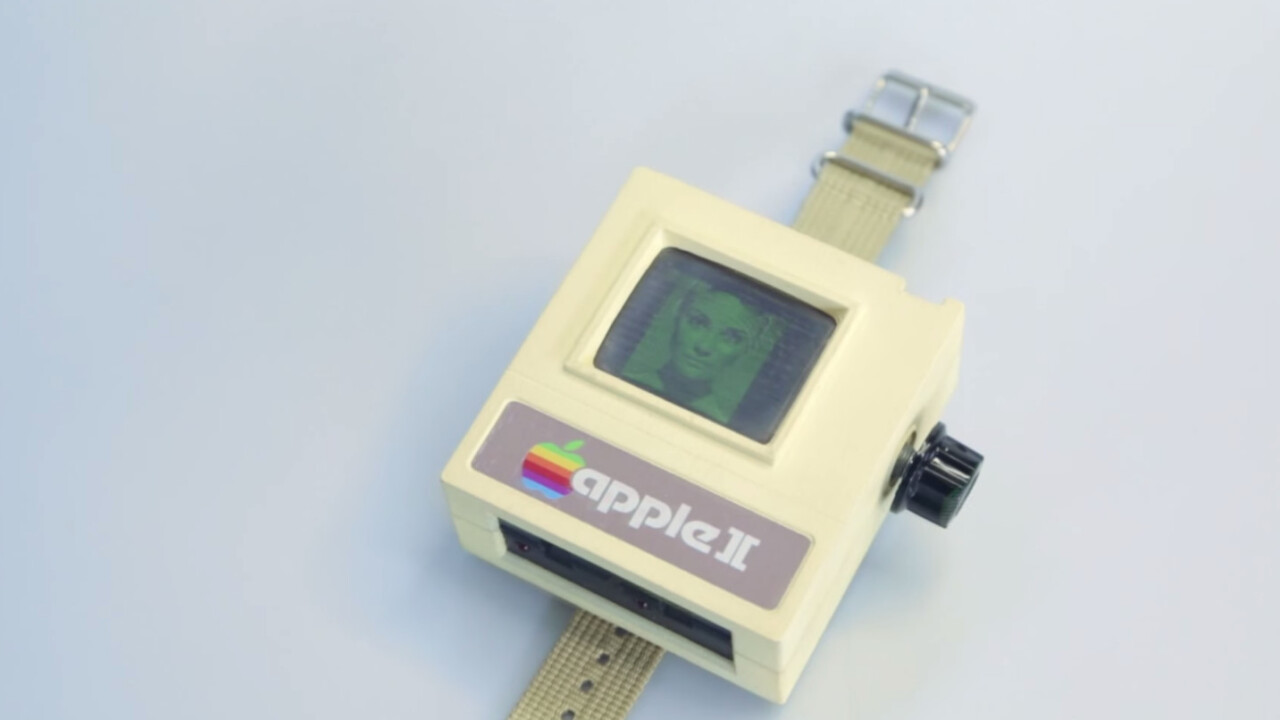 Forget the Apple Watch, what you really want is the Apple II Watch straight from the 1970s