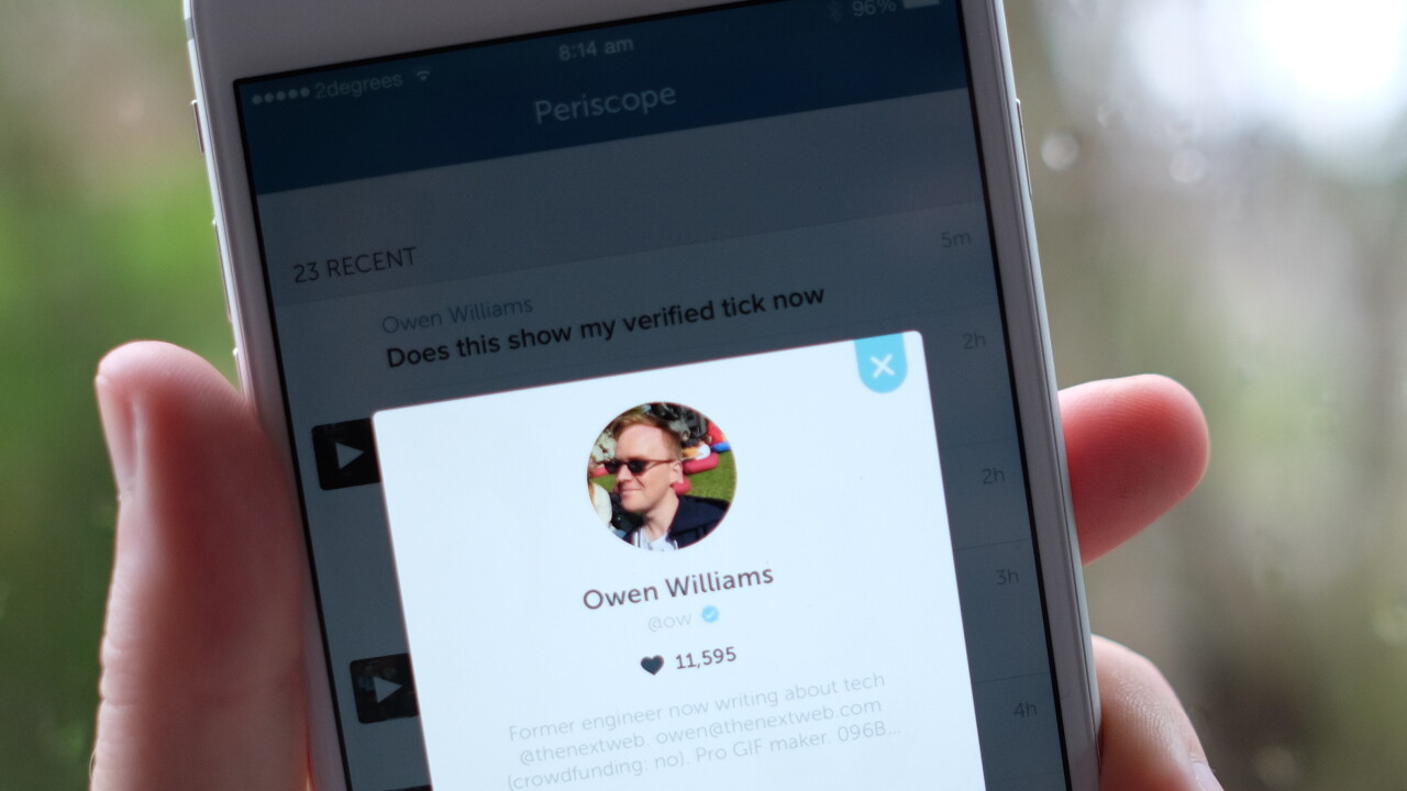 Periscope update makes it easier to stream with friends and stop spam