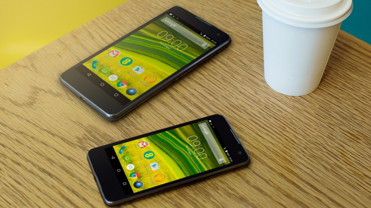 EE introduces new own-brand devices, including £200 5.2″ full HD 'Harrier' smartphone