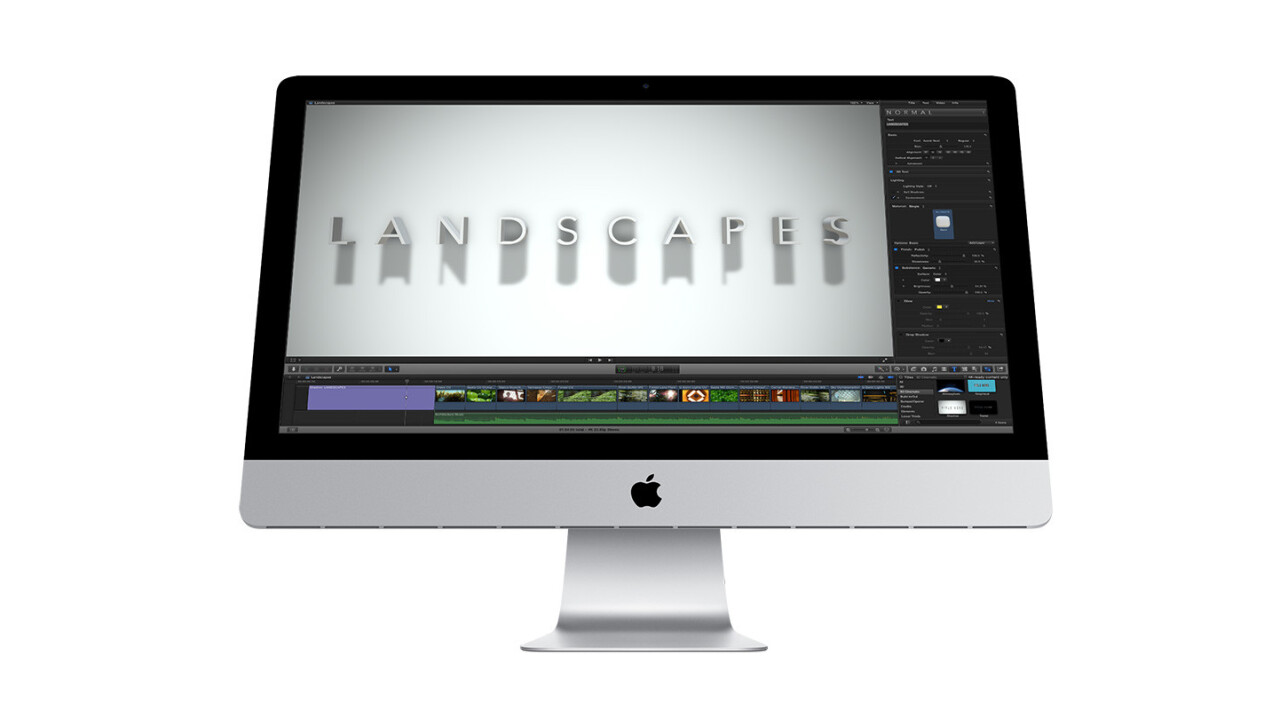 Apple updates Final Cut Pro and companion apps to boost performance, creative output and iTunes Store integration