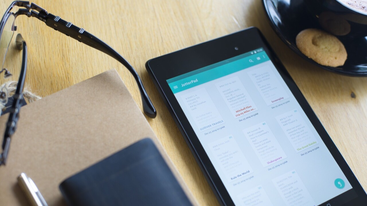 JotterPad is the writing app for creatives