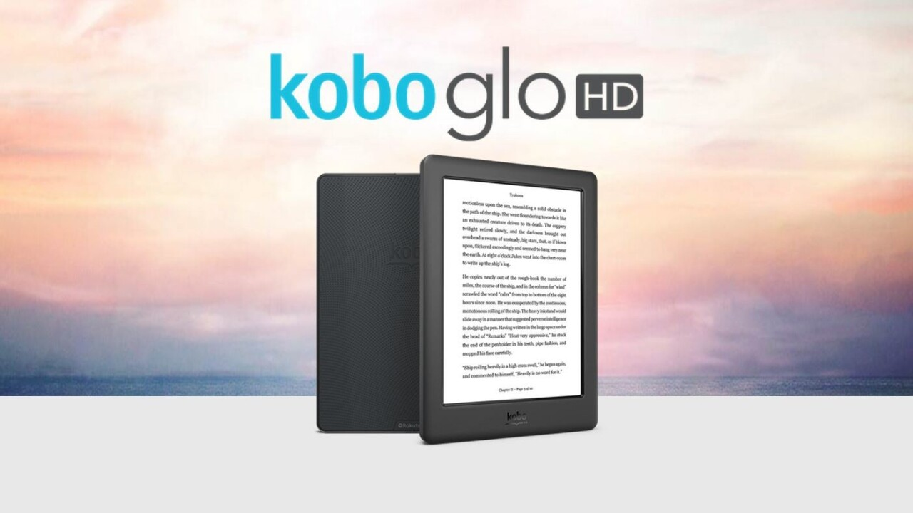 Kobo's new Glo HD is a Kindle Voyage rival that's $70 cheaper