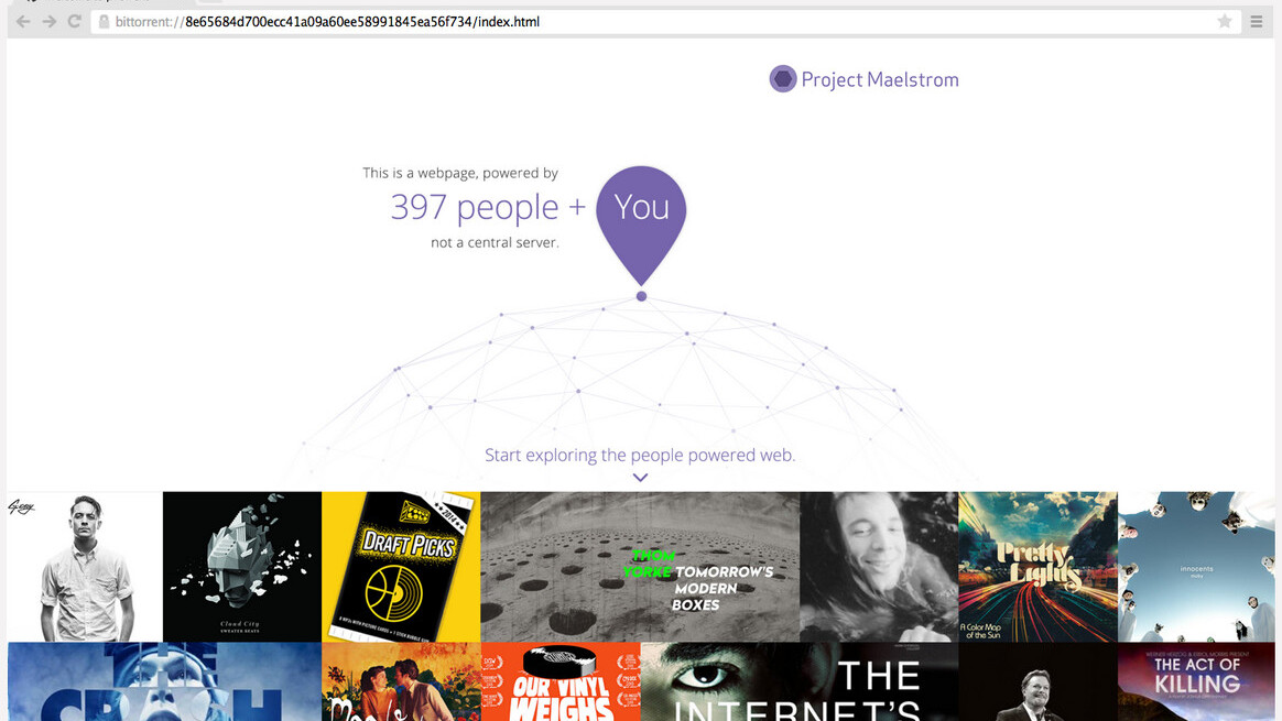BitTorrent launches its Maelstrom P2P Web Browser in a public beta
