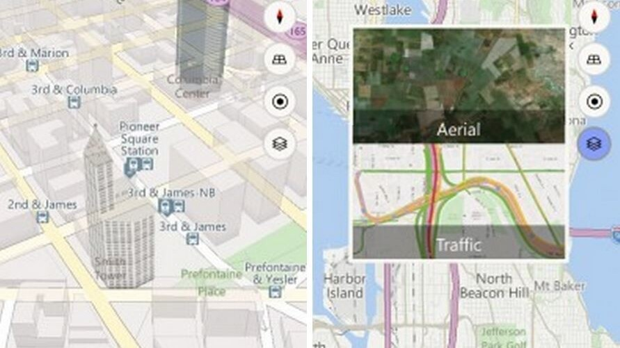 Microsoft's new Maps app for Windows 10 phones combines the best of Bing and HERE maps