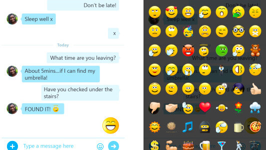 Skype and Skype Qik mobile updates bring new chat layout, emojis and support for 12 new languages