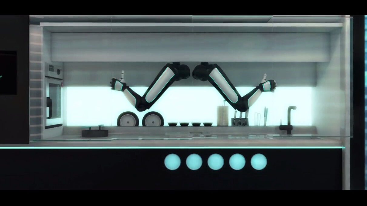 Robo-chef is trained by the best and wants to cook you dinner