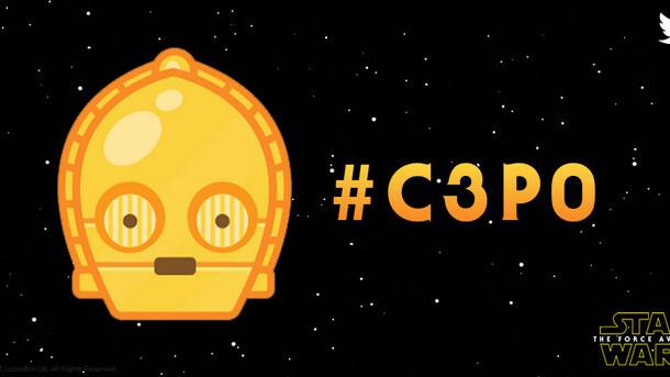 Star Wars emoji hit Twitter – #C3PO, #StormTrooper and #BB8 plus #TheForceAwakens