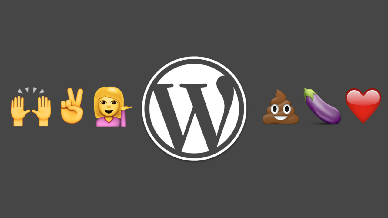 WordPress now lets you use emoji… even in the URL of your post