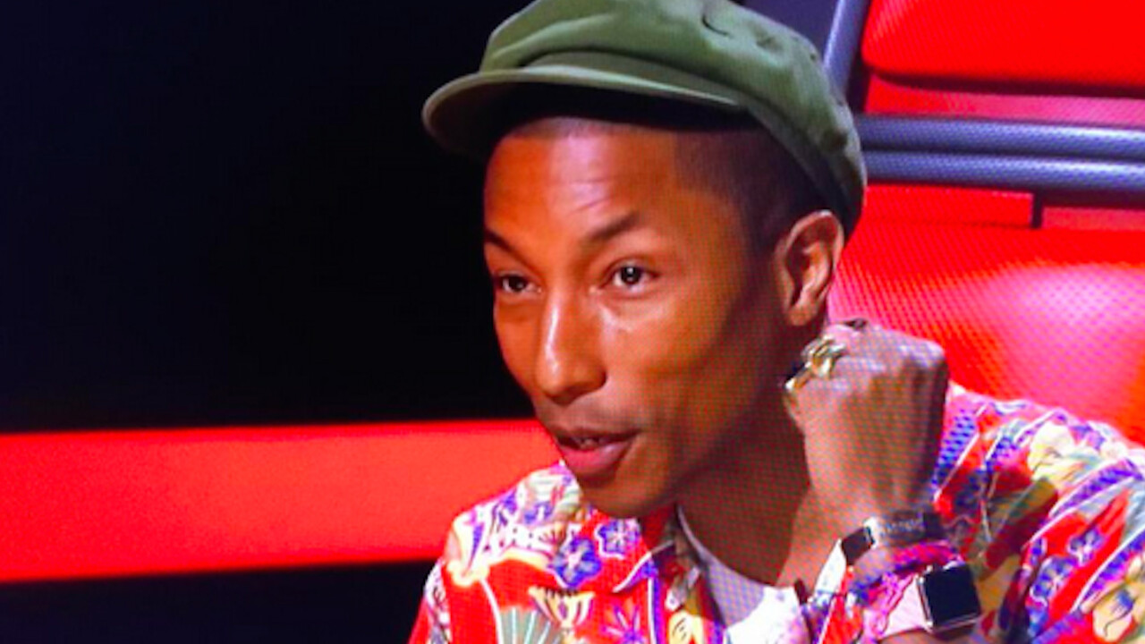 Does Pharrell Williams wearing an Apple Watch make you more or less likely to buy one?