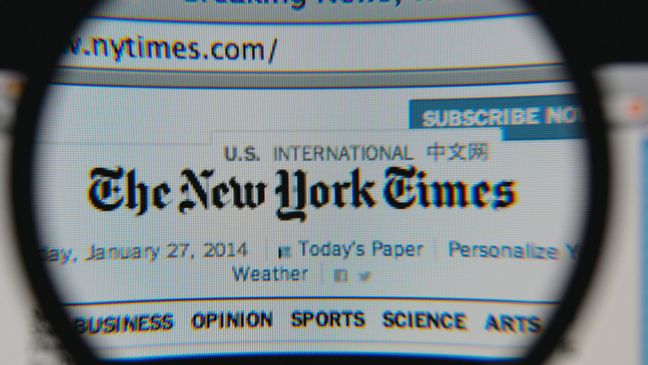 The New York Times' NYT Now iOS app is going free to lure more millennials to use it
