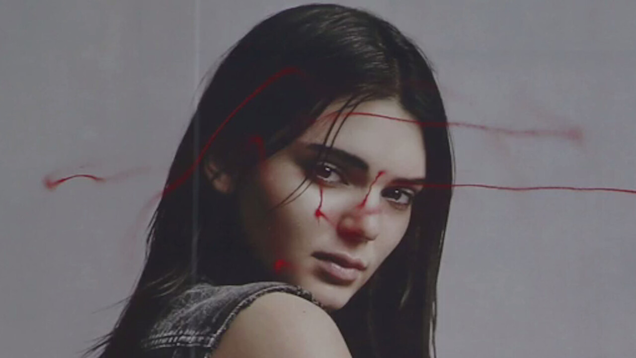 Kendall Jenner versus a graffiti drone: the age of airborne vandalism begins!
