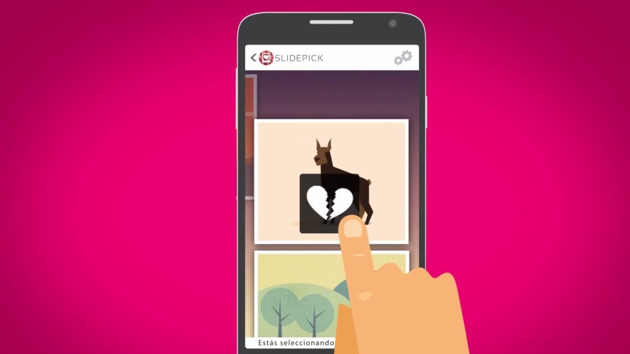 SlidePick for Android lets you clean up your photo gallery, Tinder-style