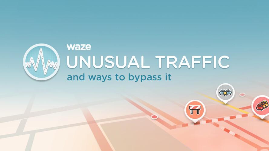 Waze will now tweet unusual traffic alerts through localized Twitter accounts