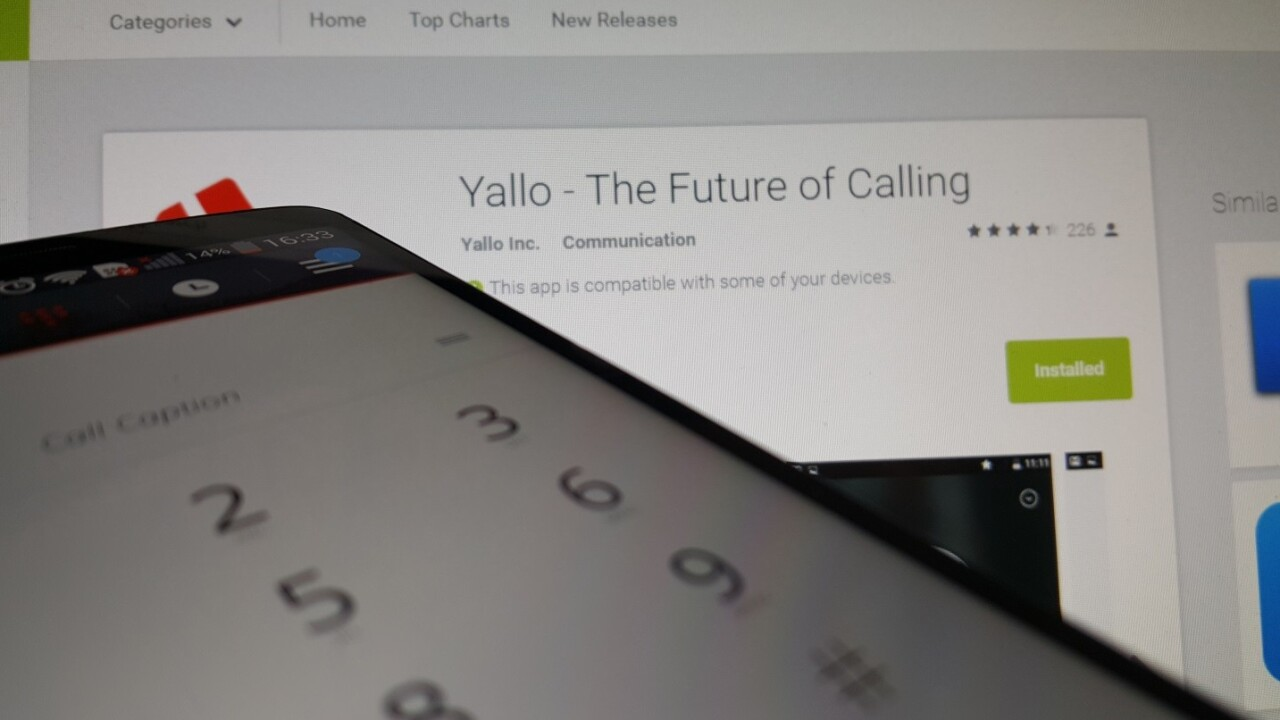 Yallo's Android app brings call recording, captioning and automatic reconnection to your phone