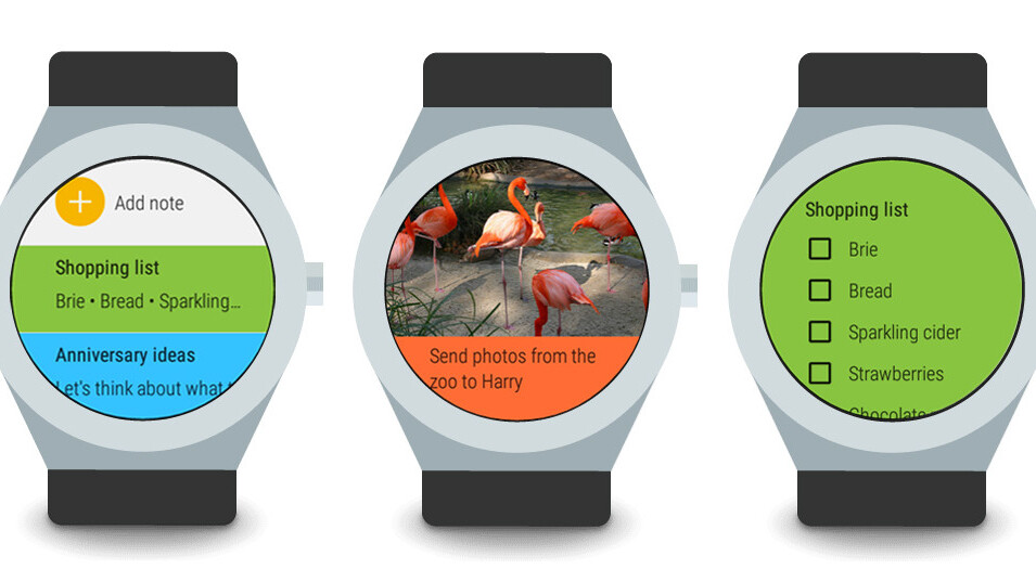 Google Keep on Android Wear now lets you dictate notes on the go