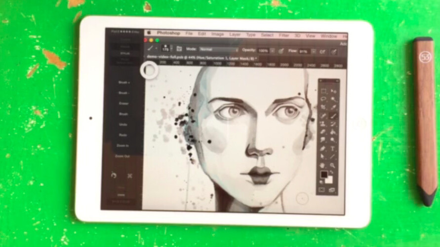 Astropad now features deep integration with FiftyThree's Pencil stylus for creating art on the iPad and Mac
