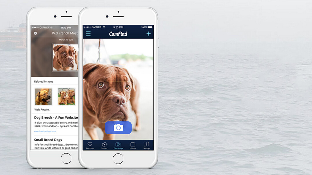 CamFind visual search app for iPhone and Android now features a social network